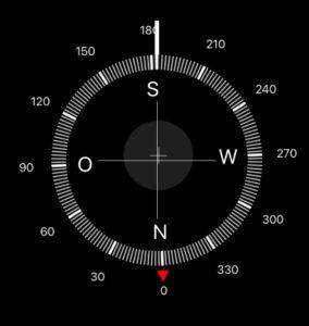 Kompass im Feng Shui