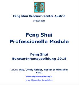 Feng Shui Beraterinnen Ausbildung